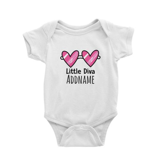 Little Diva Customizable Romper