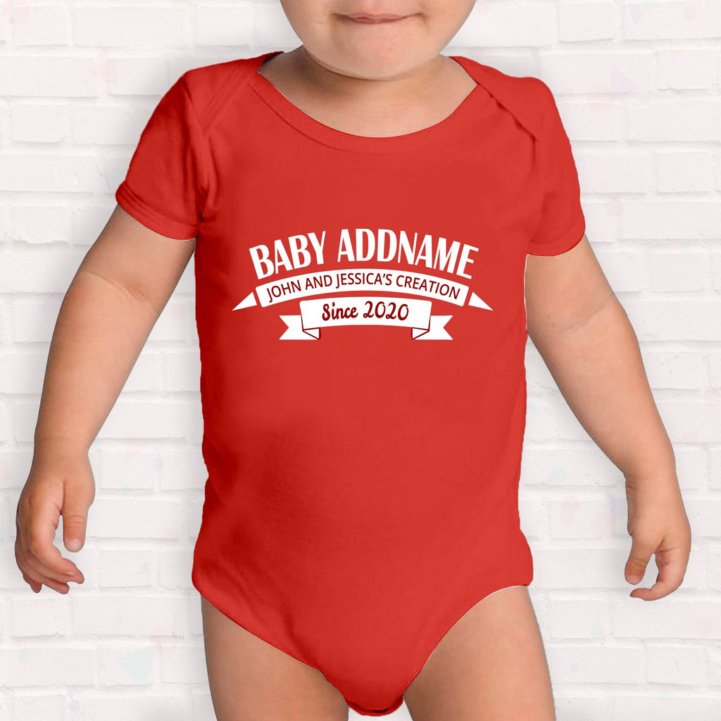 Name with Creation Customizable Romper