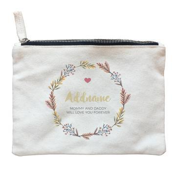 Autumn Leaves Zipper Pouch