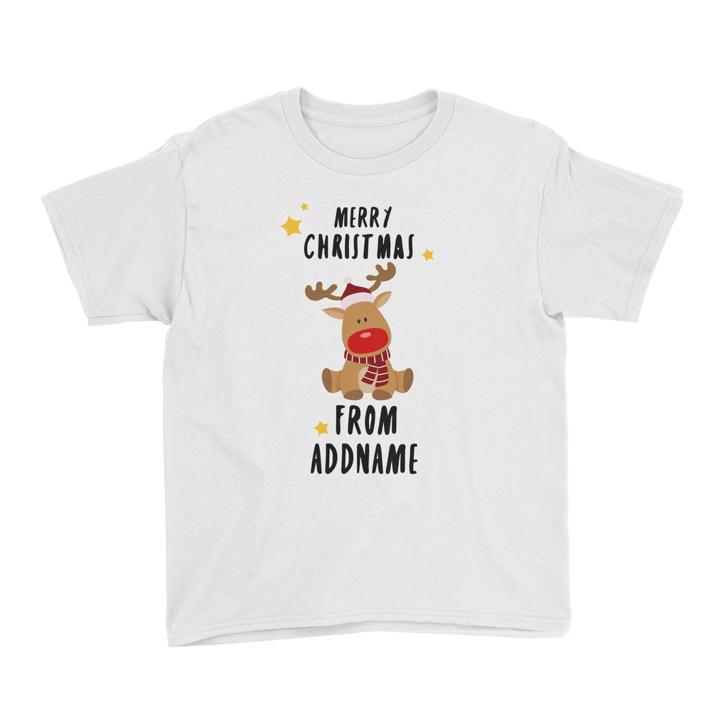 Customized Rudolf Greeting T-shirt