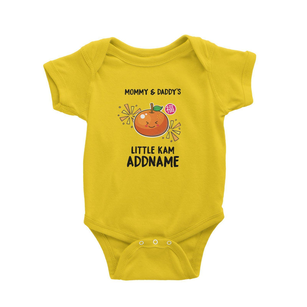 Mum & Dad's Little Kam customizable Romper