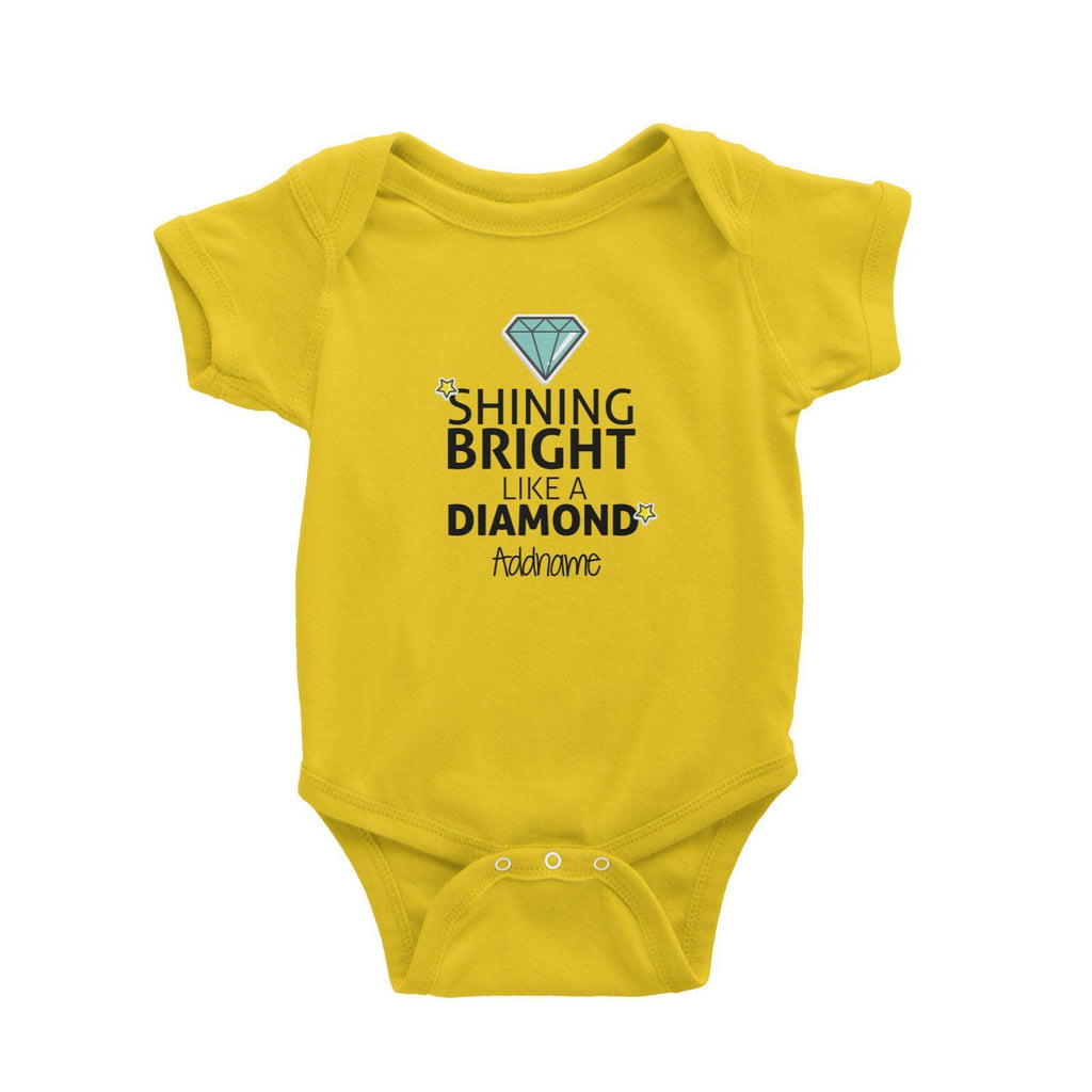 Shine bright like a Diamond Customizable Romper