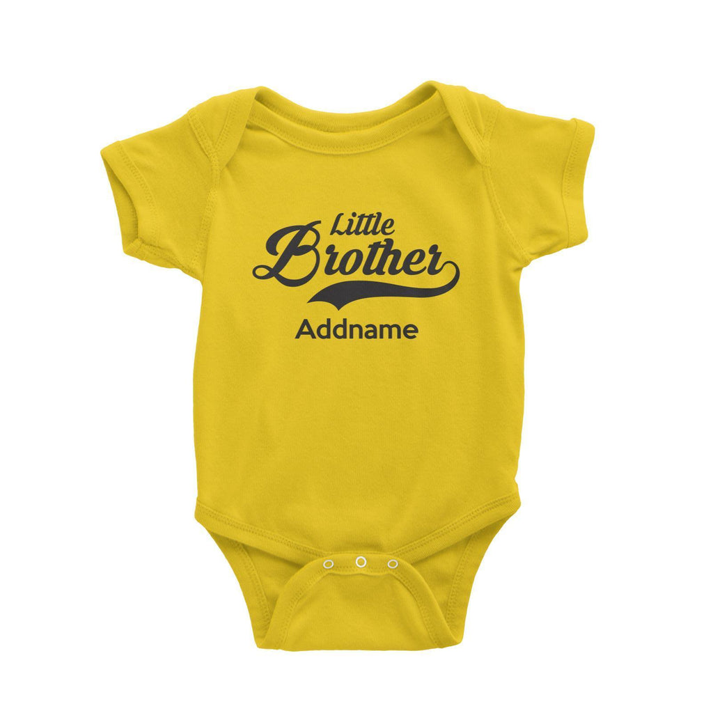 Little Brother Customizable Romper