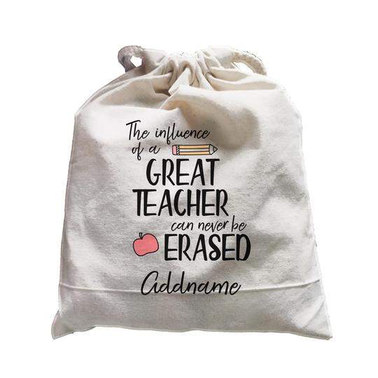 The Influence of a Great Teacher Customizable Satchel