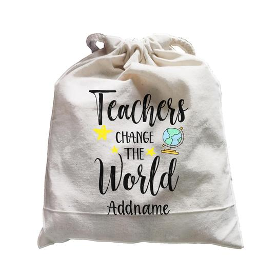 Teachers Change the World Customizable Satchel