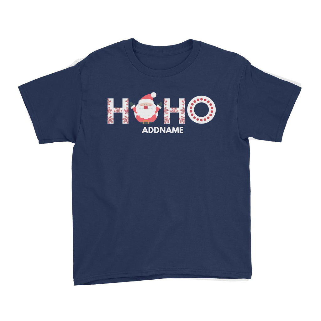 Christmas Hoho Customizable Kids Tee