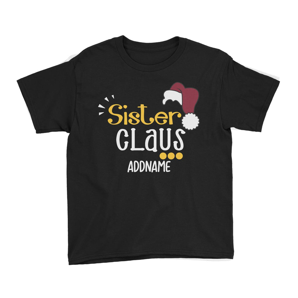 Sister Claus Customizable Kids Tee