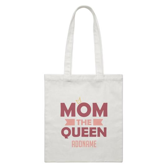 Mom the Queen Canvas Bag