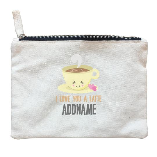 I Love You a Latte Zipper Pouch