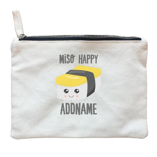 Miso Happy Sushi Zipper Pouch