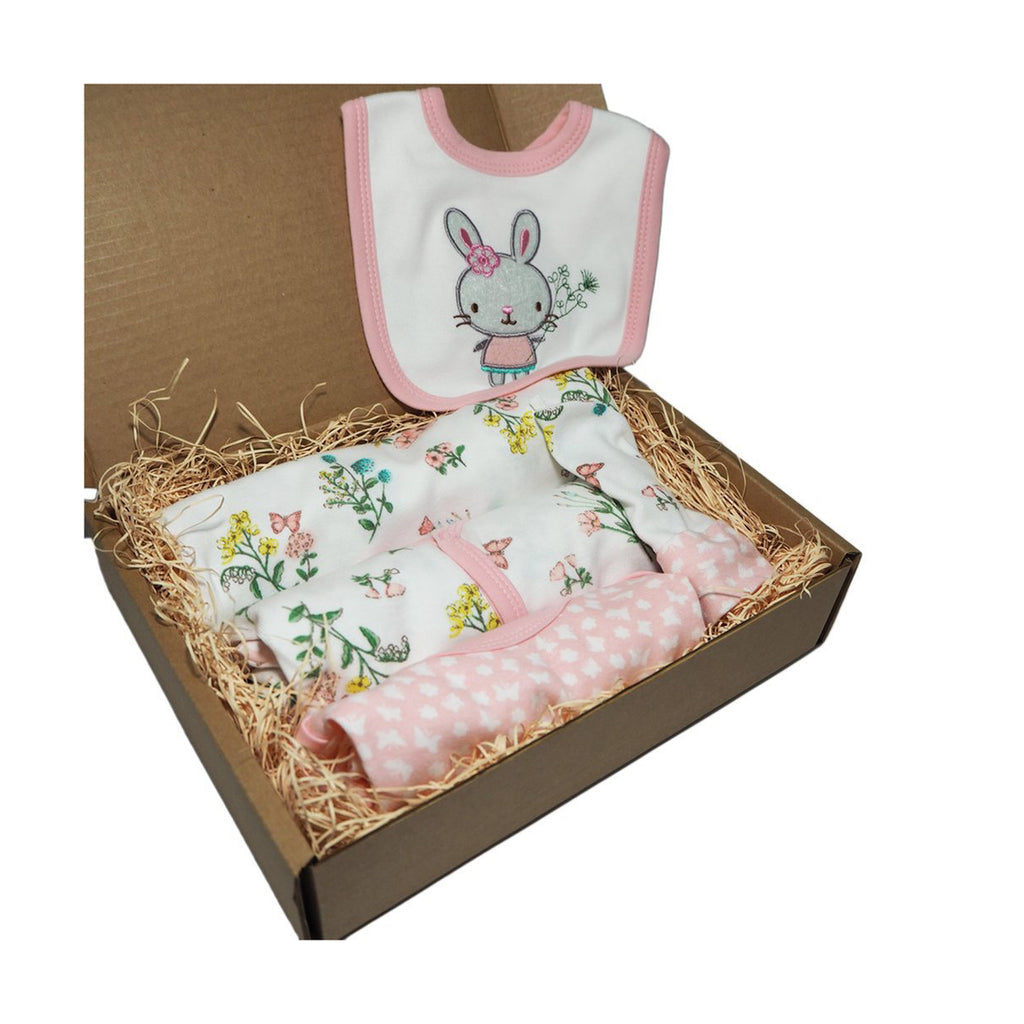 Little Miracle 5 Piece Starter Box- Floral Bunny