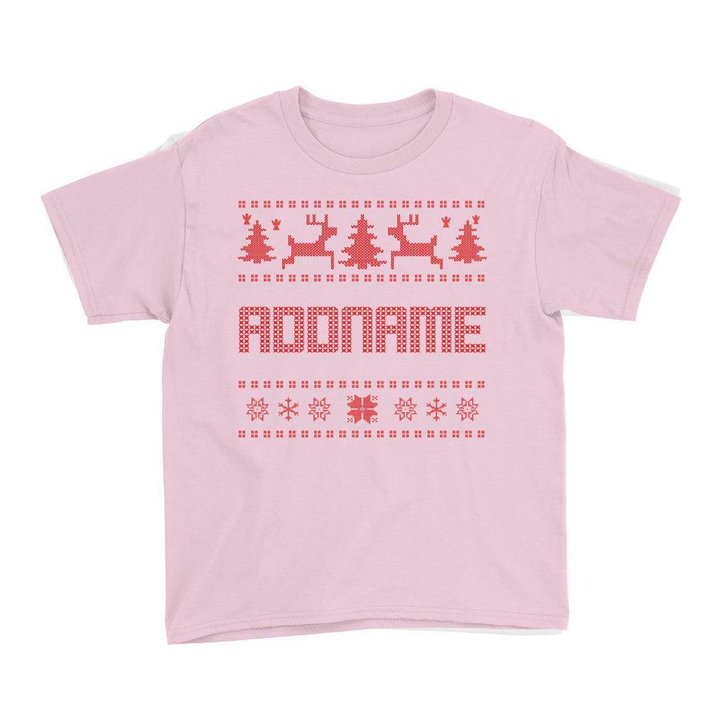 Christmas Sweater Design Customizable Tee