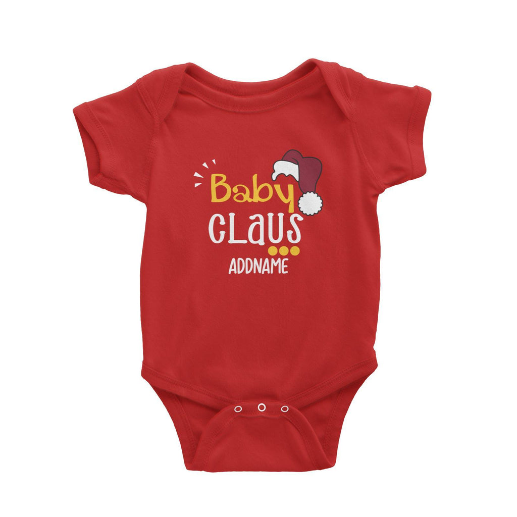 Baby Claus Customizable Romper