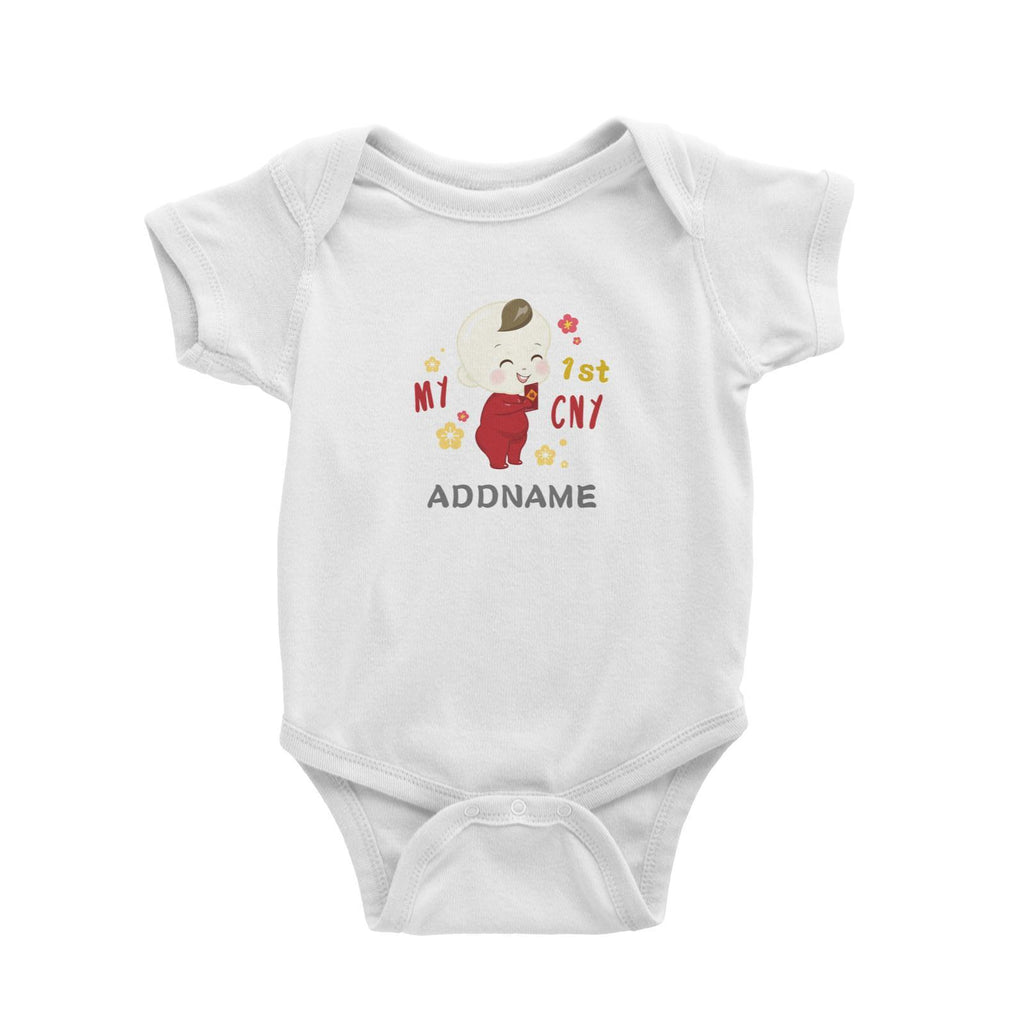 First CNY Baby Boy Romper