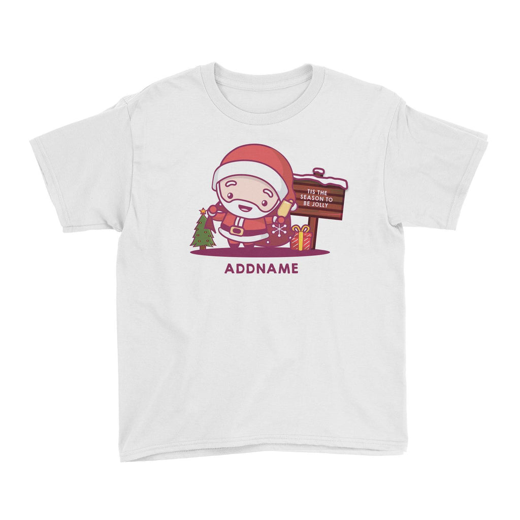 Jolly Santa Customizable Tee