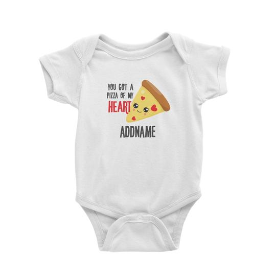 You have a Pizza of My Heart Customizable Romper