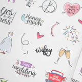 STICKERS TO BE BRIDE