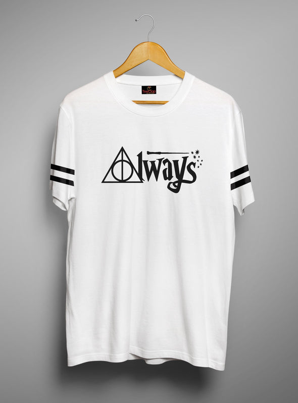 Always | Men's Round Neck | Graphic Printed Premium T-Shirt - TeeClap