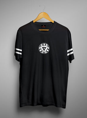 Arc Reactor | Men's Cut And Sew | Graphic Printed Premium T-Shirt - TeeClap