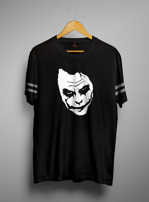 Joker Face | Men's Round Neck | Graphic Printed Premium T-Shirt - TeeClap