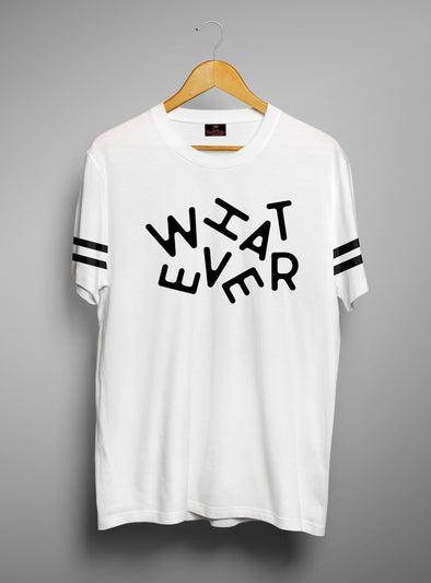 Whatever | Men's Cut And Sew | Graphic Printed Premium T-Shirt