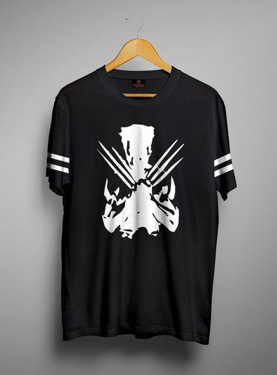 Wolverine | Men's Cut And Sew | Graphic Printed Premium T-Shirt - TeeClap