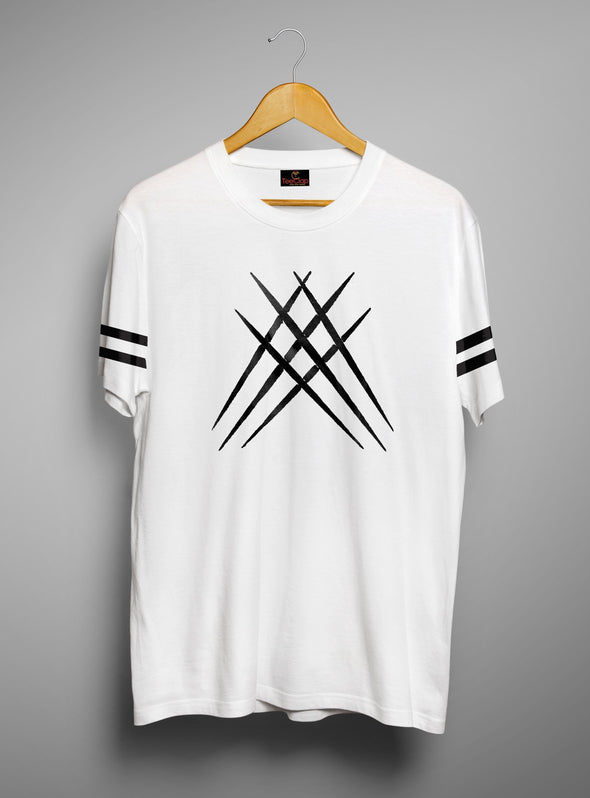 Wolverine Claw | Men's Cut And Sew | Graphic Printed Premium T-Shirt - TeeClap