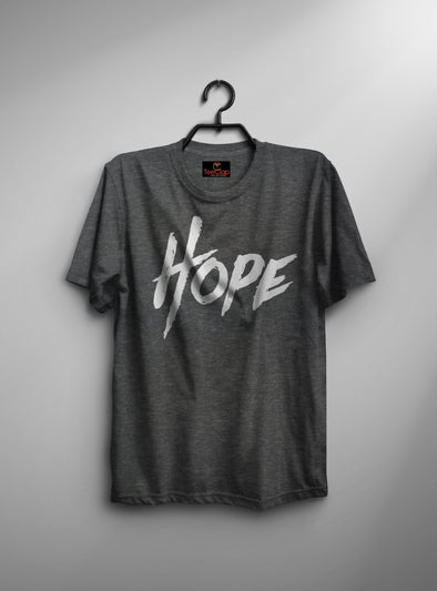 Hope | Men's Round Neck | Graphic Printed Premium T-Shirt - TeeClap