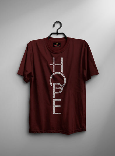 New Hope | Men's Round Neck | Graphic Printed Premium T-Shirt - TeeClap