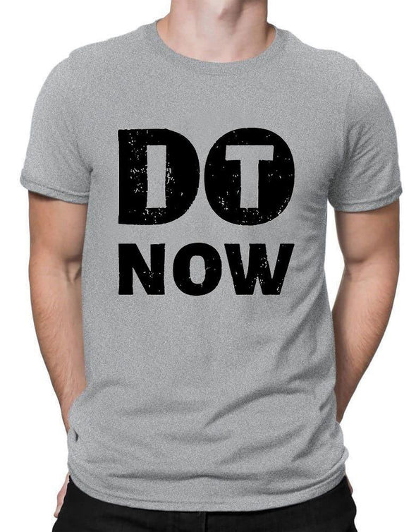 Do It | Men's Round Neck | Graphic Printed Premium T-Shirt - TeeClap
