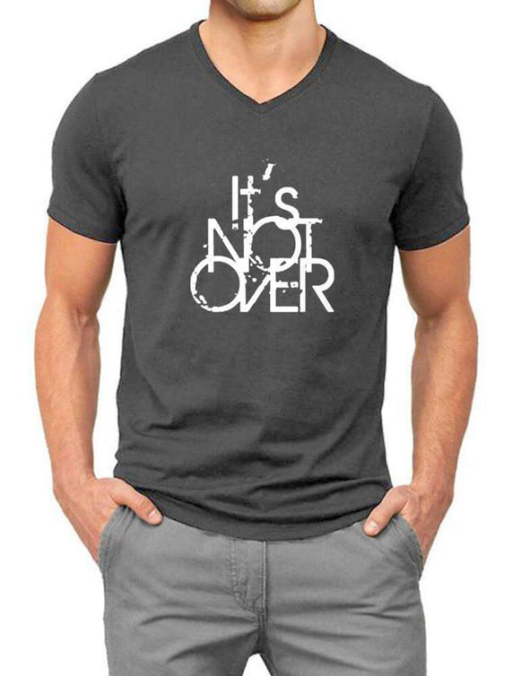 Its Not Over | Men'S V Neck T Shirt - TeeClap