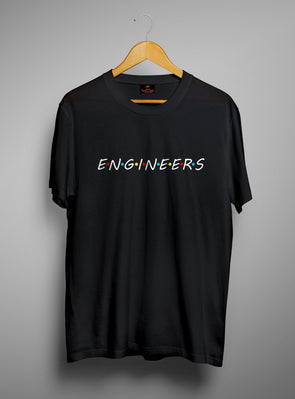 Talk Engineers | Men's Round Neck | Graphic Printed Premium T-Shirt