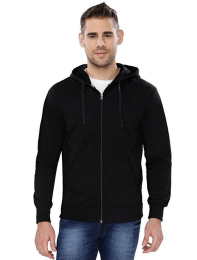 Plain Zipper | Superior Fleece Zipper Hoodie - TeeClap