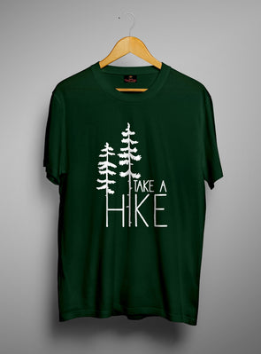 Take A Hike | Men'S Round Neck T Shirt