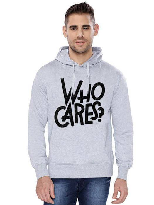 Who Cares Classic | Fluff Classic Hoodie