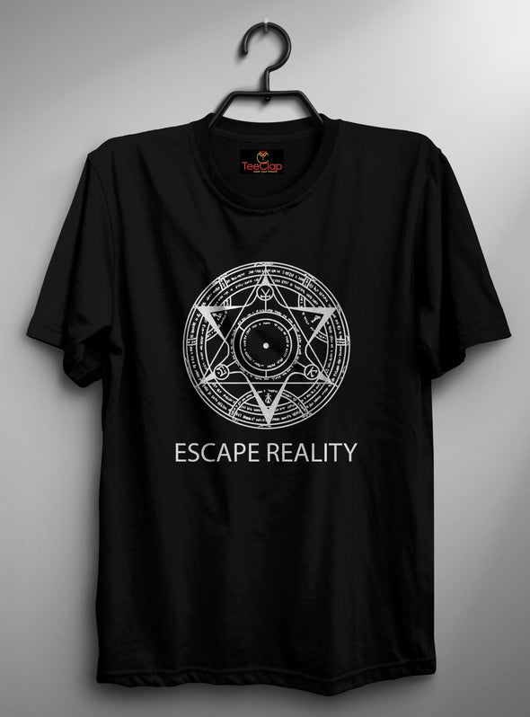 Doctor Strange Escape Reality | Men's Round Neck | Graphic Printed Premium T-Shirt - TeeClap