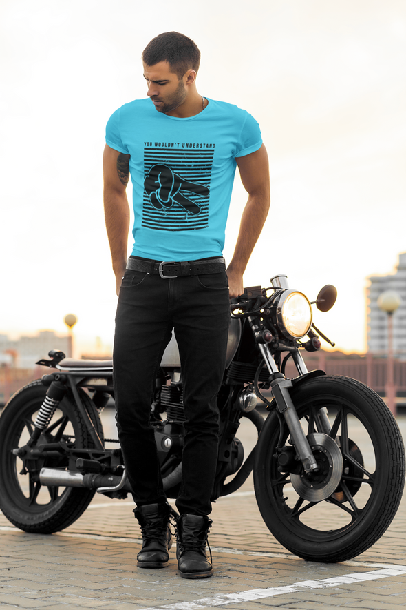 Men's Premium quality Printed T-shirt  Biker's - You Wouldn't Understand