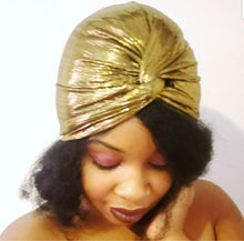 Metallic Turbans