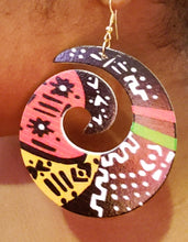 Cultural Print Earrings
