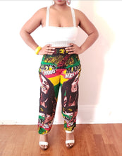 Bob Marley high waisted pants-Style 1