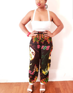 Bob Marley high waisted pants-Style 3