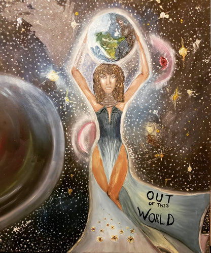 Out of This World Oil Painting
