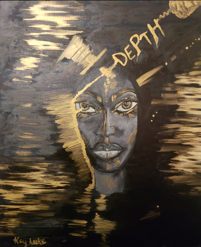 Depth of a Woman Painting