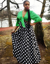 Long Polka Dot Skirt