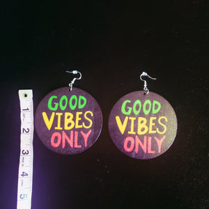 Earring-Good Vibes Only