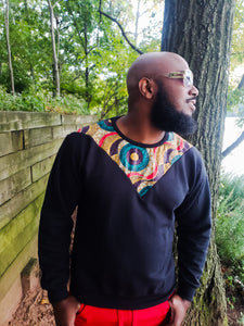 Sweat Shirt-African Print