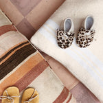 Load image into Gallery viewer, Baby slippers leopard/beige