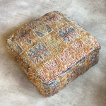 Load image into Gallery viewer, Amazigh pouf #178