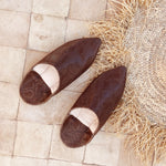 Afbeelding in Gallery-weergave laden, Leather mules Snake