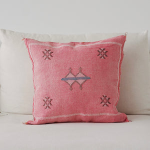 Cactus silk pillow